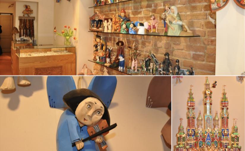 Drewniane ręcznie produkowane anioły oraz szopki bożonarodzeniowe doskonałe na prezent
